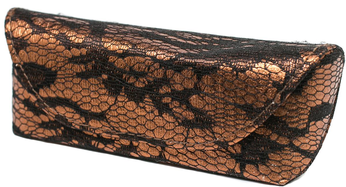 Футляр для очков женский Mitya Veselkov, цвет: бронзовый. JL157.col.2