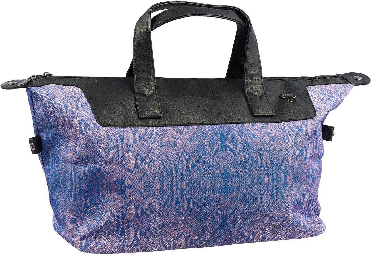 Сумка дорожная Ibag, цвет: фиолетовый, 30 л