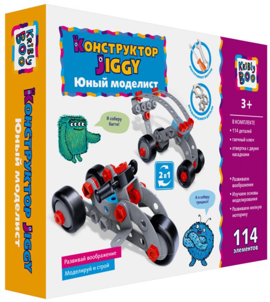 Kribly Boo Jiggy Конструктор Юный моделист 114 элементов