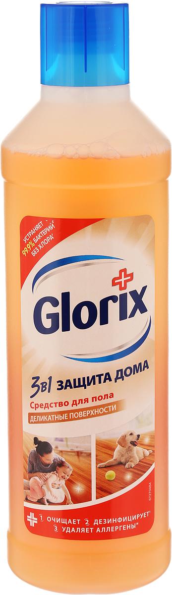 Glorix Средство для мытья пола Деликатные поверхности, 1 л glorix чистящее средство для пола деликатные поверхности 1л