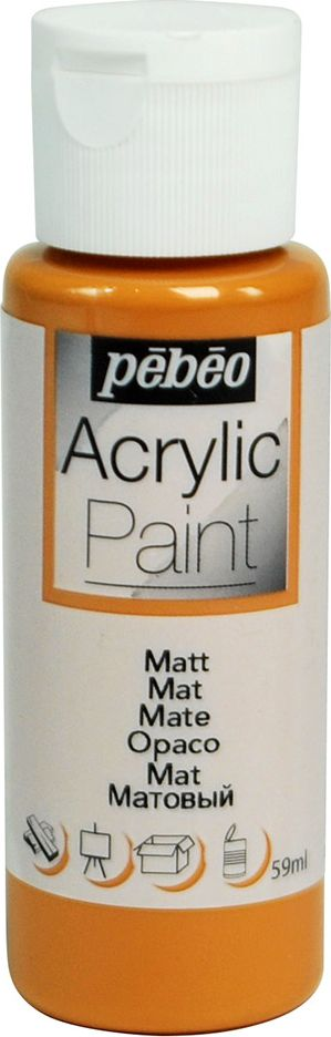 Pebeo Краска акриловая Acrylic Paint матовая цвет 097815 карамель 59 мл - Краски
