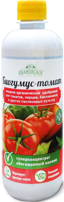 Удобрение Фермерское хозяйство Ивановское Биогумус. Томат, суперконцентрат, 500 мл
