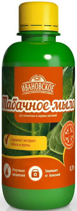 Удобрение Фермерское хозяйство Ивановское Табачное мыло, 250 мл
