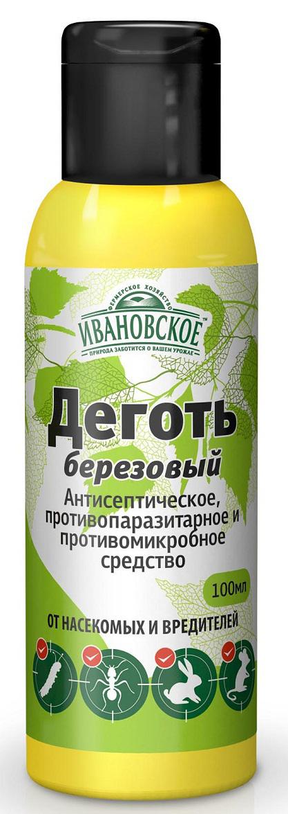 Удобрение Фермерское хозяйство Ивановское Деготь, 100 мл