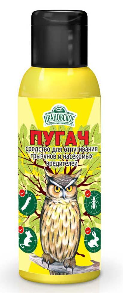 Пугач Фермерское хозяйство Ивановское, от крыс и мышей, 100 мл