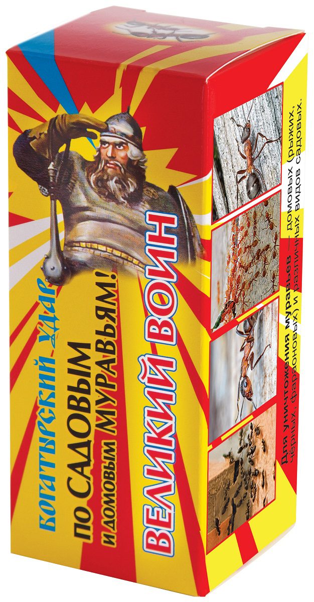 Сироп от муравьев Ваше хозяйство Великий воин, 100 мл халиксол сироп 30 мг 10 мл 100 мл