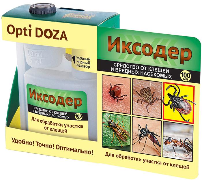 Уничтожает клещей разных видов — иксодовых. Dermacentor, Haemaphysalis, Rhipicephalus. Действует быстро — через 30 минут после обработки. Длительный защитный эффект — губителен для клещей на траве и в почве до 1-1,5 месяцев. Оптимален для комплексной защиты территории — против ос, шершней, муравьев, комаров. В помещениях уничтожает клопов, блох и тараканов. Экономически выгодное средство. Концентрат! Практически не токсичен для птиц и дождевых червей, не опасен для почвенных микроорганизмов.