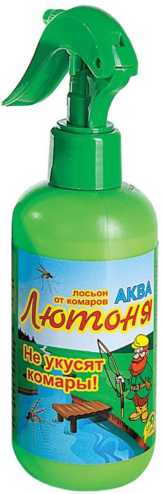Аква-спрей от комаров Ваше хозяйство Лютоня, для взрослых и детей старше 10 лет, 200 мл спрей от комаров ваше хозяйство дарики дарики для детей от 2 х лет 125 мл