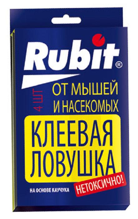 Ловушка клеевая Рубит, от крыс и мышей от тараканов ловушка клеевая домик argus
