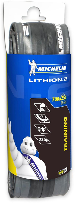 Покрышка Michelin 23-622 Lithion 2 Dark Grey TS V2