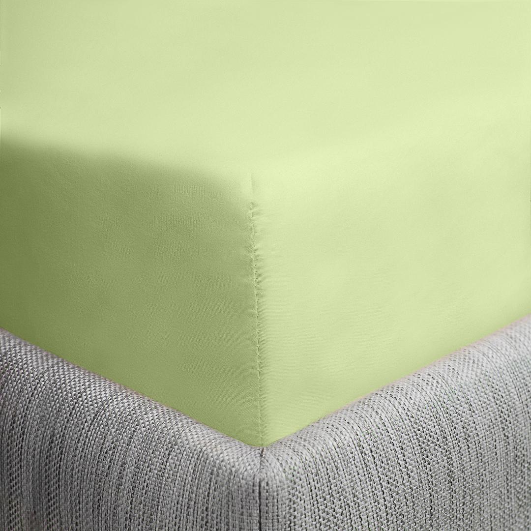 Простыня Dome Furina, цвет: салатовый, 200x214 смdme282223Сатин - гладкая и прочная ткань, которая своим блеском, легкостью и гладкостью похожа на шелк, но выгодно уступает ему по цене. Сатин практически не мнется, поэтому его можно не гладить, ко всему прочему, он весьма практичен, так как хорошо переносит множественные стирки. Если Вы ценитель эстетики и практичности одновременно, безусловно, сатин для Вас.