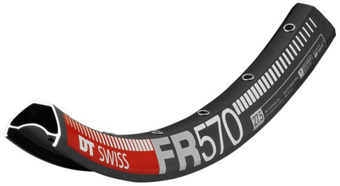 Обод МТБ DT Swiss FR 570, 27,5, 32 отверстия, цвет: черный