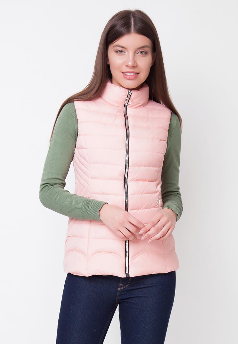 Купить Жилет женский Ampir Style, цвет: розовый. 18/789. Размер 44