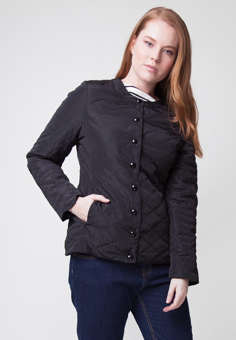 Купить Куртка женская Ampir Style, цвет: черный. M56/5. Размер 58