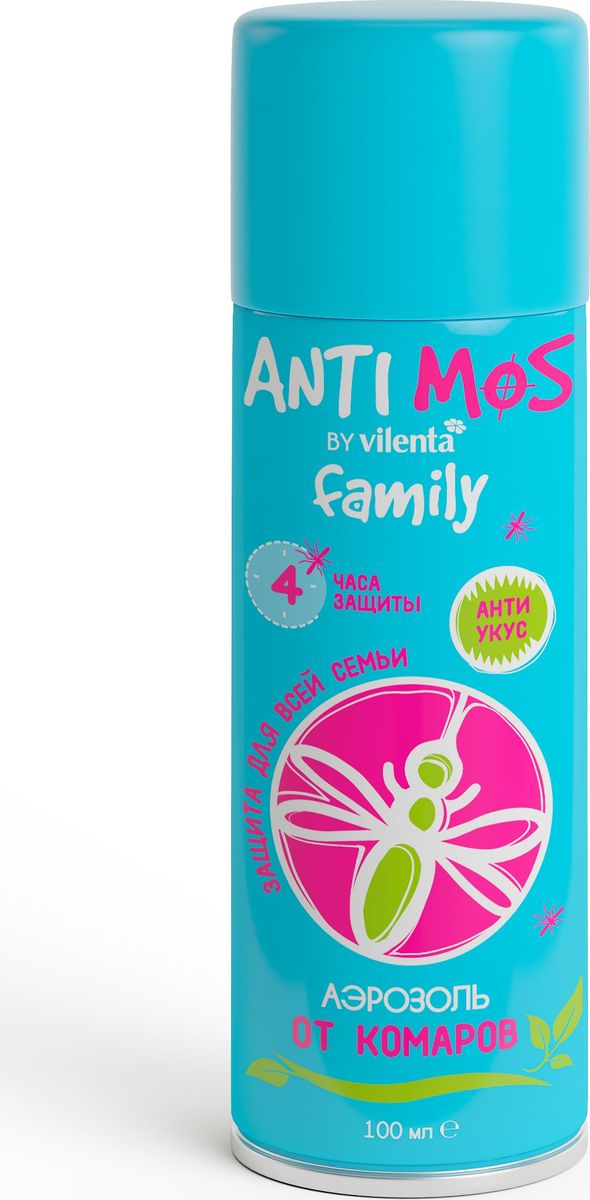 Аэрозоль от комаров Anti Mos, 100 мл