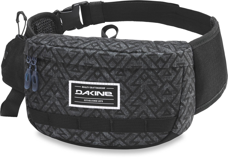 Велосумка на пояс Dakine Hot Laps, цвет: серый сумка женская dakine jive chetah