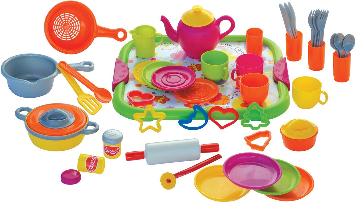 Gowi Игровой набор Большой детский кулинарный набор №2 детский набор для моделирования stirling engine stirling gz001