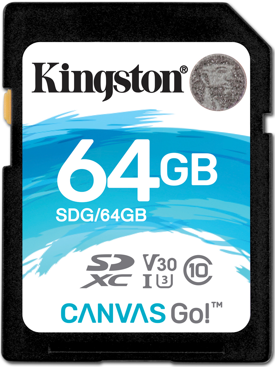 Zakazat.ru Kingston SDXC Canvas Go! UHS-I Class U3 64GB карта памяти