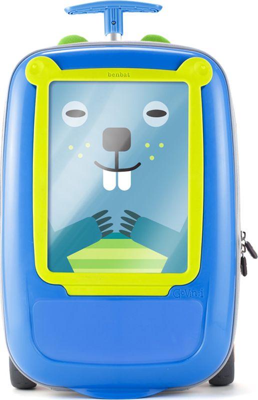 BenBat Детская сумка на колесах цвет синий зеленый
