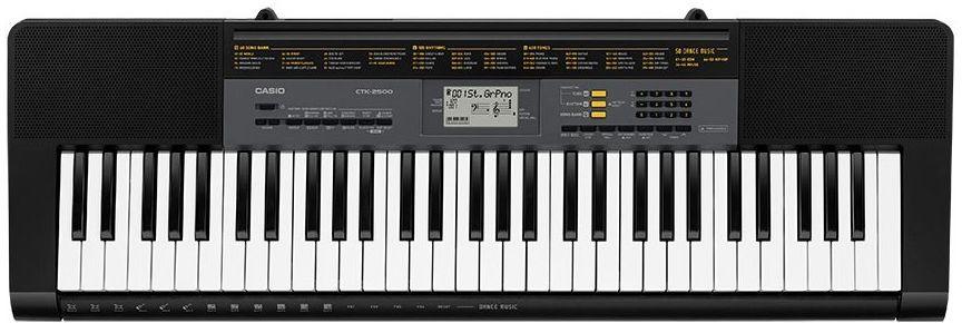 Casio CTK-2500, Black цифровой синтезатор