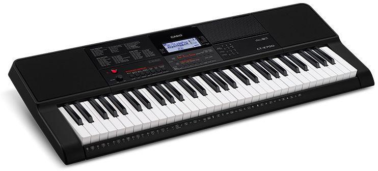 все цены на Casio CT-X700, Black цифровой синтезатор