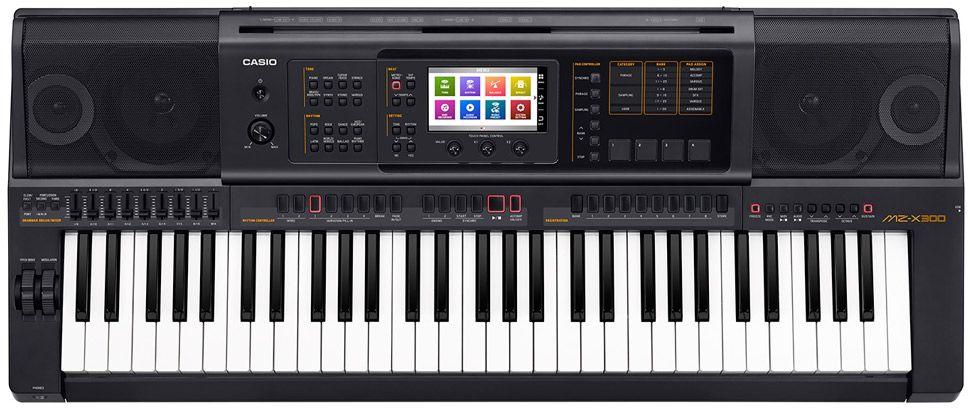 Casio MZ-X300, Black цифровой синтезатор синтезатор casio lk 265