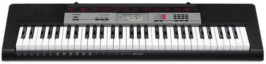 Casio CTK-1500, Black цифровой синтезатор