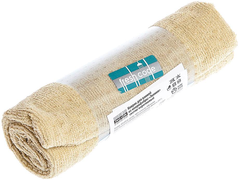 Эконом коврик для ванной со специальным ПВХ покрытием. Мягкий ворс из микрофибры создает ощущение уюта, отлично впитывает влагу, ПВХ покрытие препятствует скольжению.