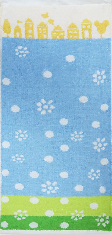 Bravo Полотенце детское Радость цвет синий 70 х 33 см
