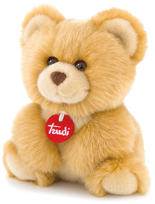 Trudi Мягкая игрушка Медвеженок-пушистик 24 см мягкие игрушки trudi лайка маркус 34 см