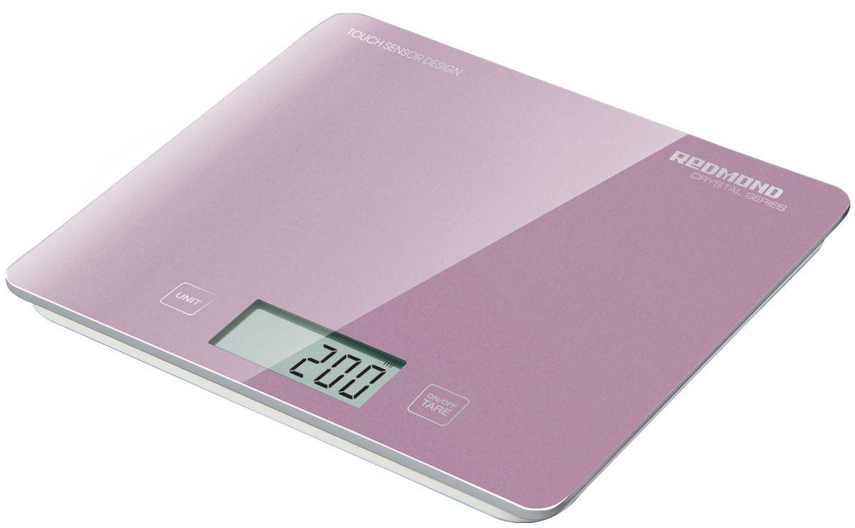 Redmond RS-724-E, Pink весы кухонные
