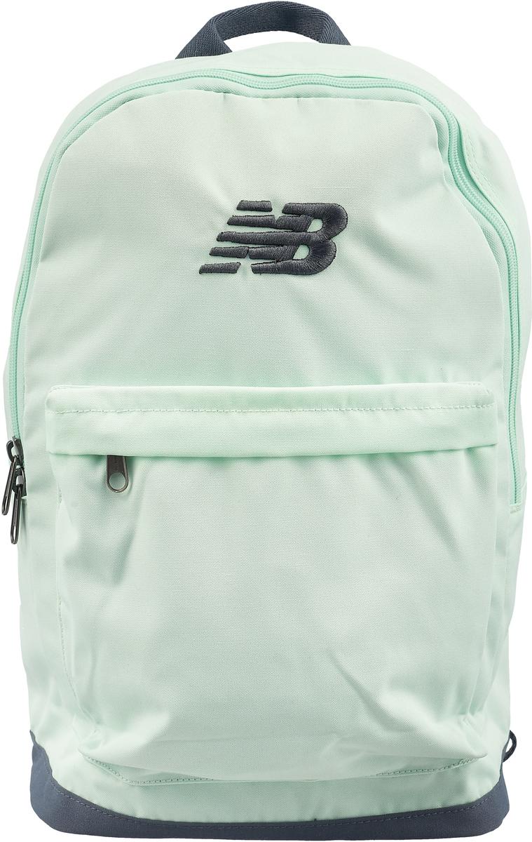 Рюкзак женский New Balance, цвет: зеленый. 500278/322