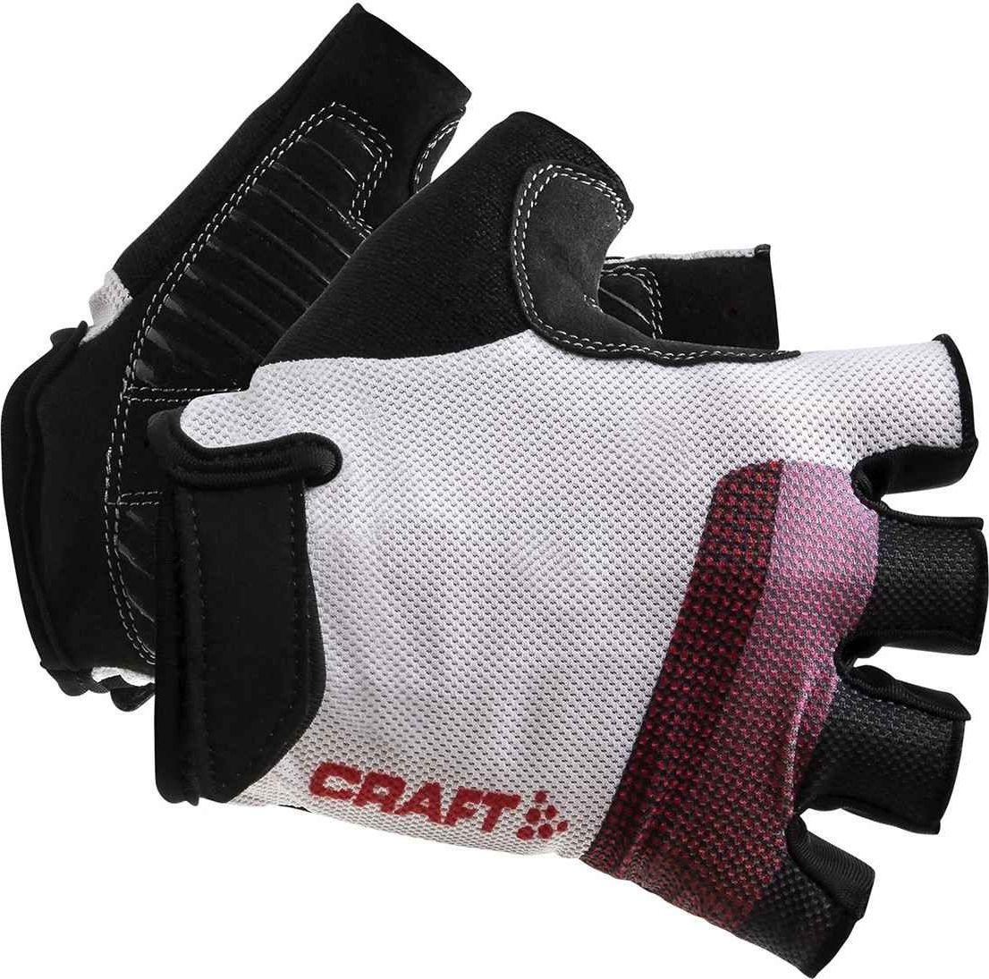 Велоперчатки Craft Go Glove, цвет: черный, белый. 1906148/900430. Размер M (9)