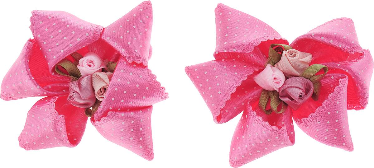 Baby's Joy Резинка для волос 2 шт K 9_розовый baby s joy резинка для волос цвет красный белый розовый 2 шт
