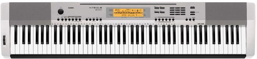 Casio CDP-230R SR, Silver цифровое фортепиано