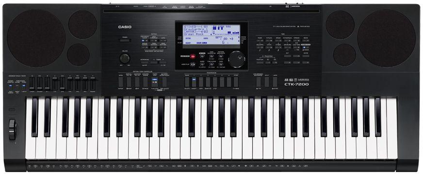 Casio CTK-7200, Black цифровой синтезатор