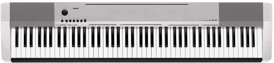 Casio CDP-130 SR, Silver цифровое фортепиано