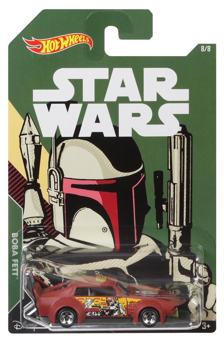 Hot Wheels Star Wars Трековая машинка Boba Fett Mad Manga