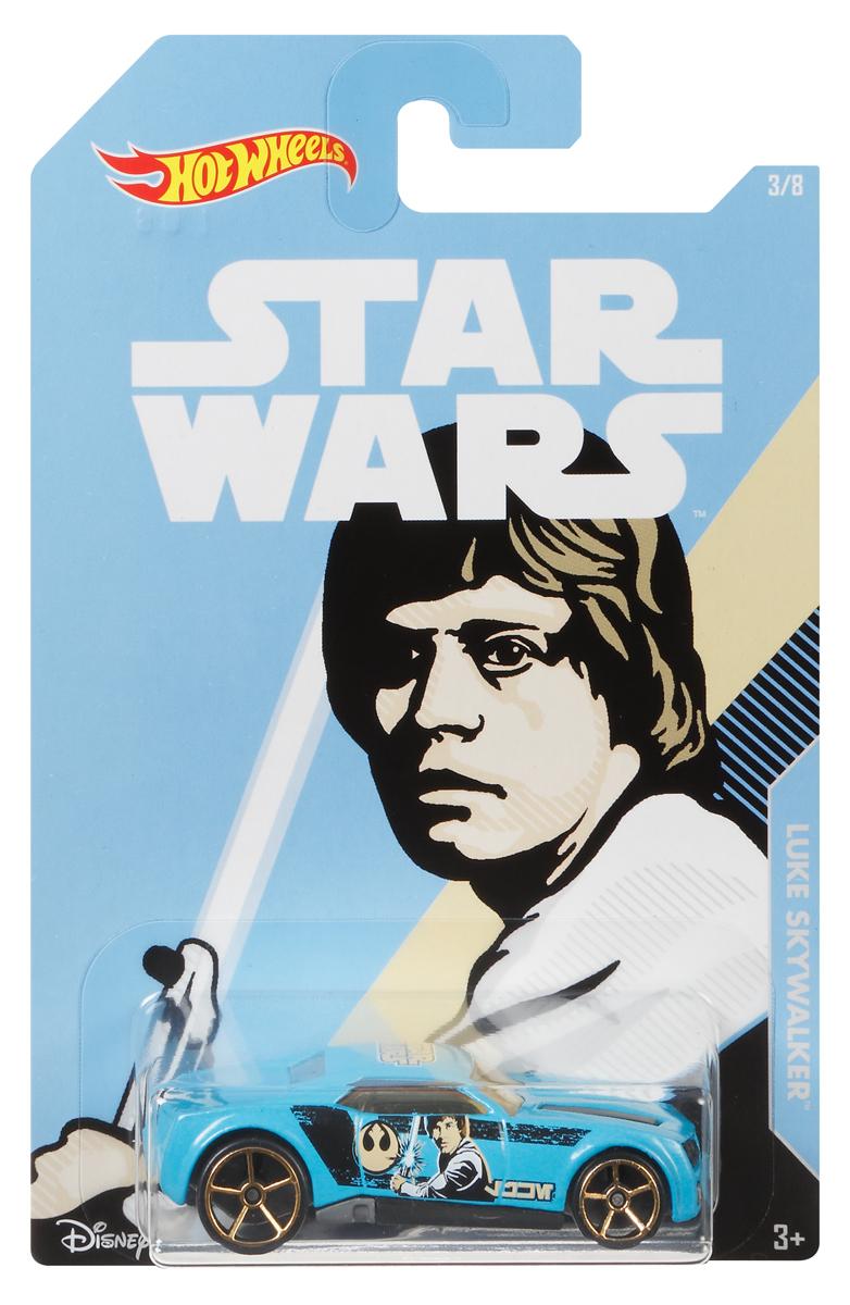 Hot Wheels Star Wars Трековая машинка Luke Skywalker Bully Goat футболка print bar star wars leia и luke skywalker