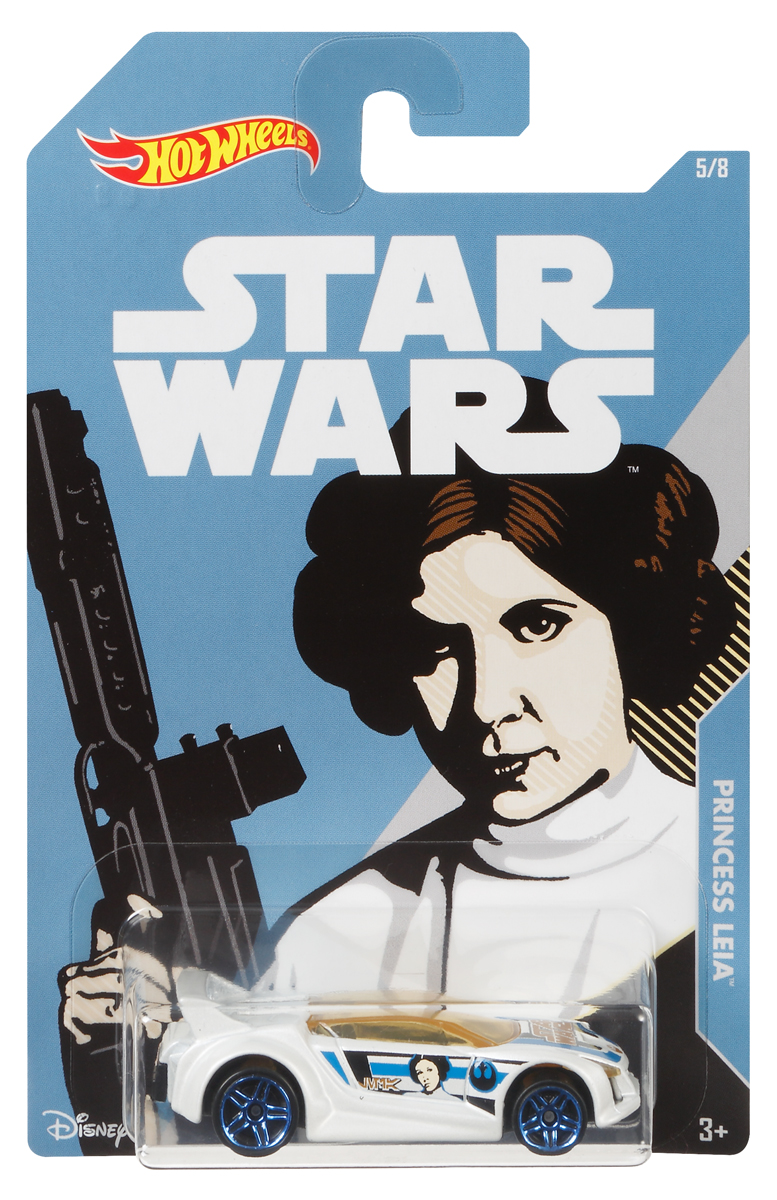 цены на Hot Wheels Star Wars Трековая машинка Princess Leia Quick N' Sick в интернет-магазинах