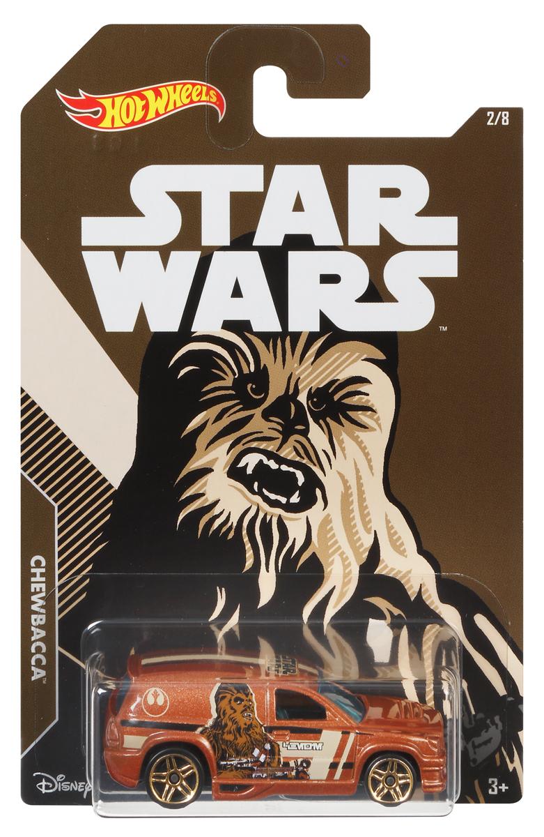 Hot Wheels Star Wars Трековая машинка Chewbacca Fandango фигурки игрушки star wars лихачи звездных войн