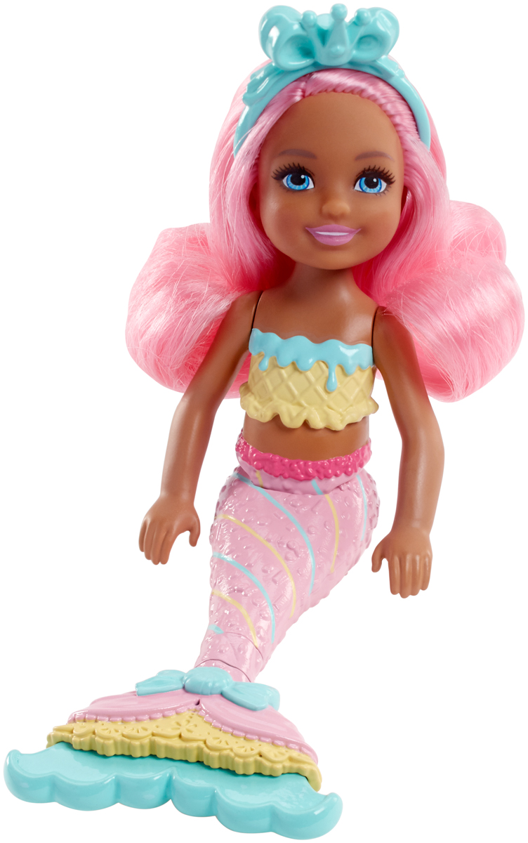 Barbie Мини-кукла Маленькие русалочки FKN04 barbie мини кукла маленькие русалочки fkn04
