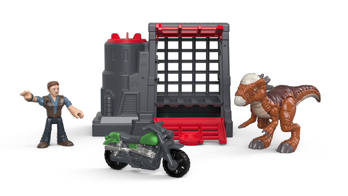 Imaginext Набор фигурок Jurassic World Stygimoloch & Owen игрушки для детей