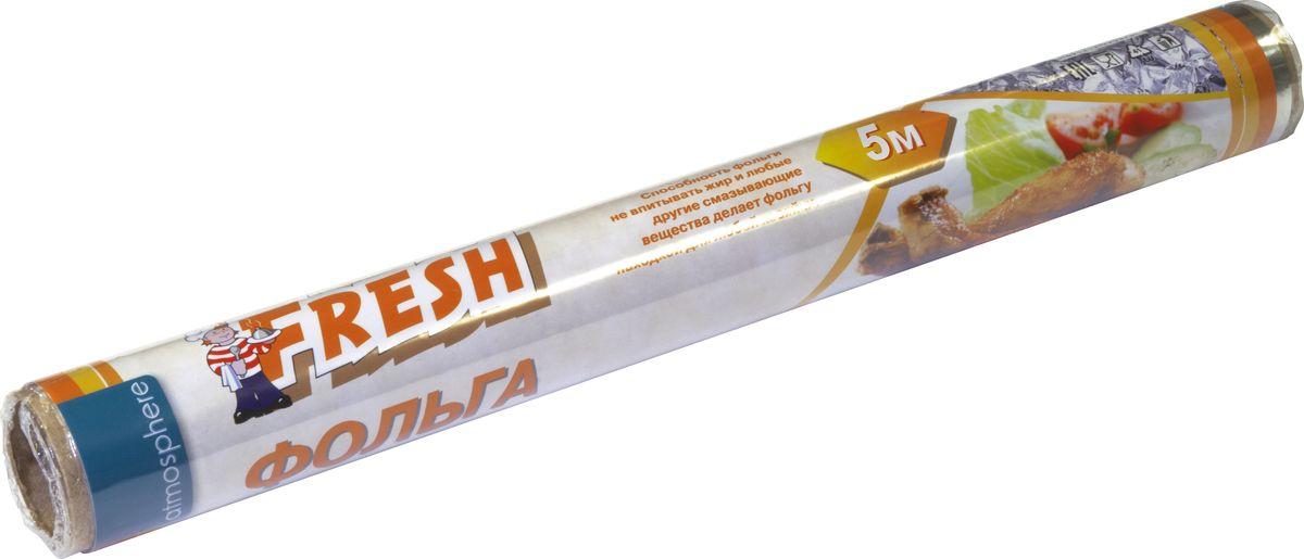 """Алюминиевая фольга """"Fresh"""" предназначена для приготовления, хранения и упаковки пищевых продуктов. Позволяет дольше сохранять продукты свежими и охлажденными, защищает их от пыли и посторонних запахов, а духовку - от загрязнений."""