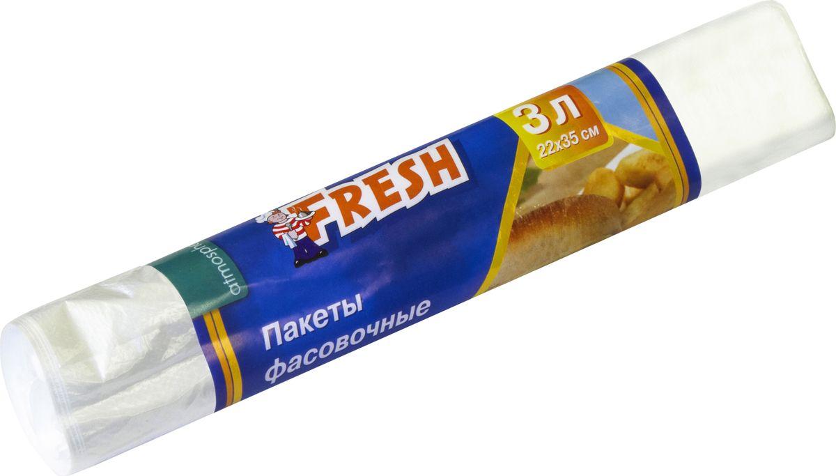 Пакеты фасовочные Atmosphere Fresh, 3 л, 50 штF3040Пакеты фасовочные Fresh предназначены для расфасовки, упаковки, хранения и транспортировки пищевых продуктов, в том числе сыпучих, А также, в качестве упаковки непродовольственных товаров. Защищают продукты от пыли, влаги и посторонних запахов.
