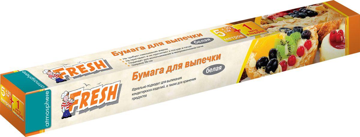 Бумага для выпечки Phibo, цвет: белый, 5+1 м миска phibo 1 6 л