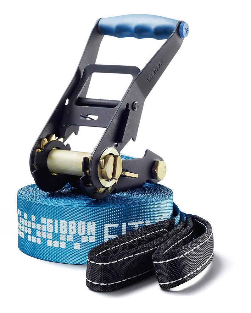 Слэклайн Gibbon Fitness Line, 150 х 5 х 0,4 см