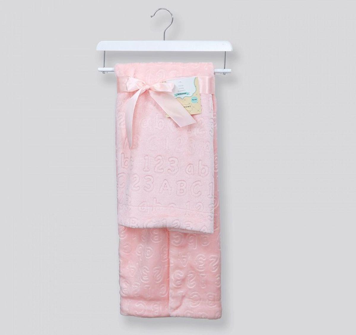 """Плед детский Cozy Home """"Сhicca"""", цвет: розовый, 70 х 100 см"""