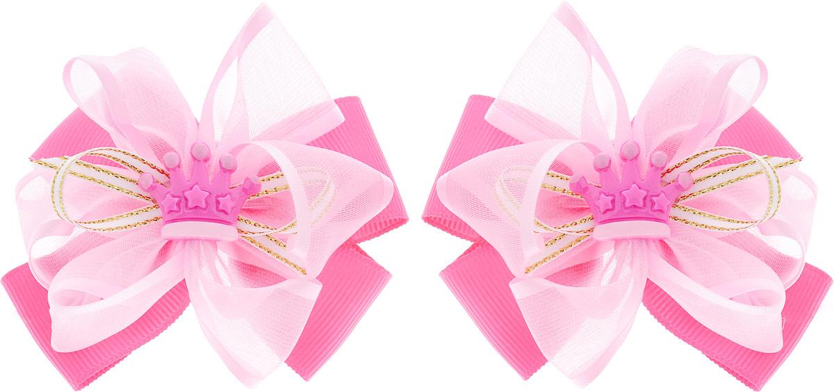 Baby's Joy Бант для волос 2 шт MN 138/2_ярко-розовый baby s joy бант для волос цвет розовый mn 2