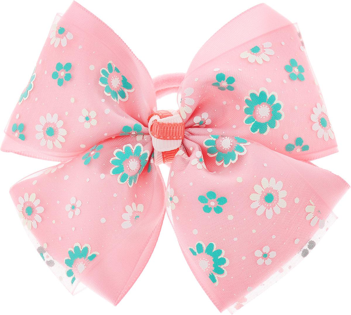 Babys Joy Резинка для волос Бант MN 122_розовыйMN 122_розовыйBabys Joy Резинка для волос Бант MN 122_розовый